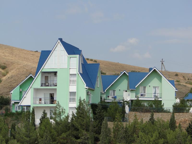 Гостевой дом 'Зеленые домики' в Курортном.