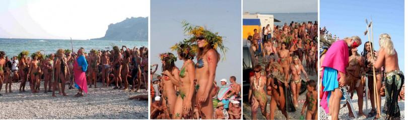 Нудистский пляж в Коктебеле. | Планета Коктебель