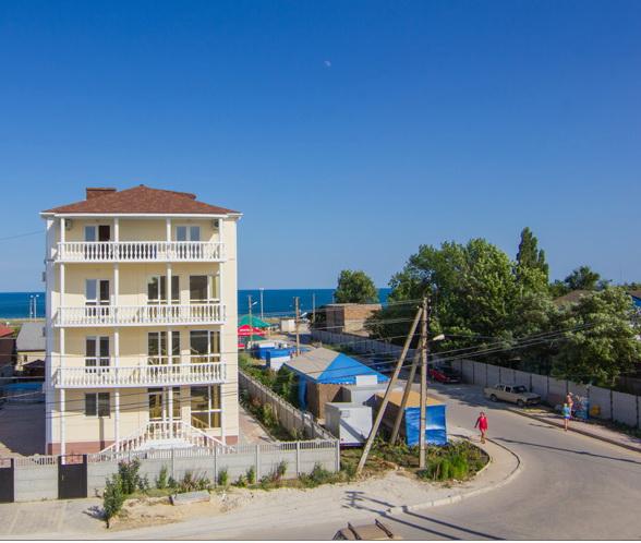 Частный отель Олимп в Береговом