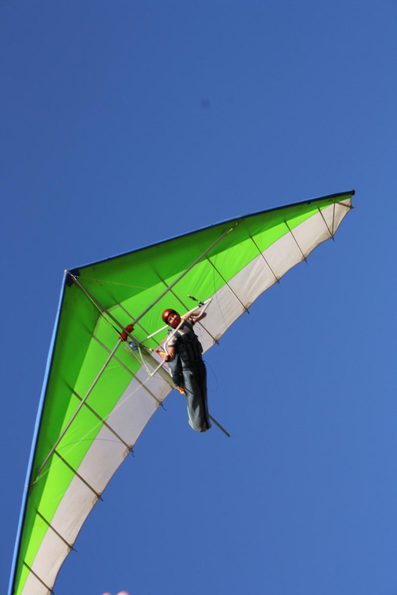 Пара планерный спорт в Коктебеле.  Клуб Бриз. | Планета Коктебель