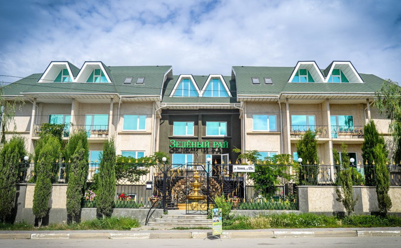 Частный отель Зеленый рай в Коктебеле.