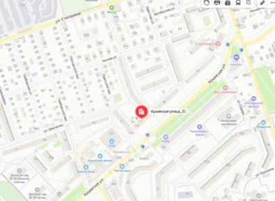1. Купить 1 комнатную квартиру у Крымского рынка в Феодосии.